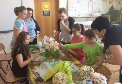 Velikonoční atmosféra dětské pacienty Nemocnice Prostějov nemine