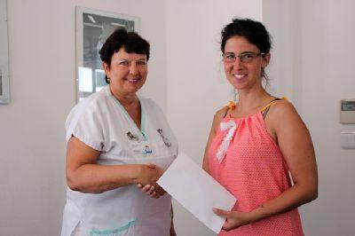 Běžci věnovali onkologickému oddělení Nemocnice Prostějov sedmatřicet tisíc korun