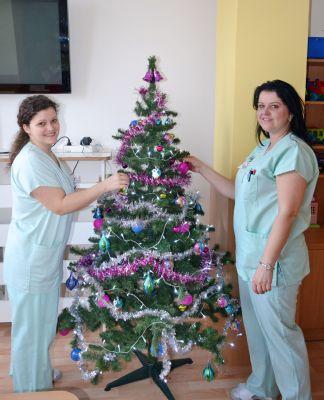 Vánoční duch zavítá i za pacienty Nemocnice Prostějov