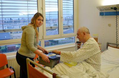 Volit prezidenta budou i pacienti v Nemocnici Prostějov