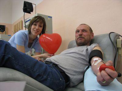Nemocnice Prostějov zve dobrovolníky na Valentýnské darování krve