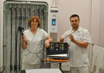 S novými přístroji za dva milióny korun pracují gastroenterologové Nemocnice Prostějov
