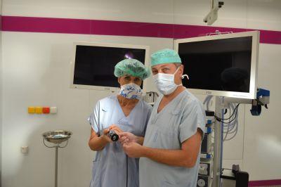 Novou laparoskopickou věž koupila na centrální operační sály Nemocnice Prostějov