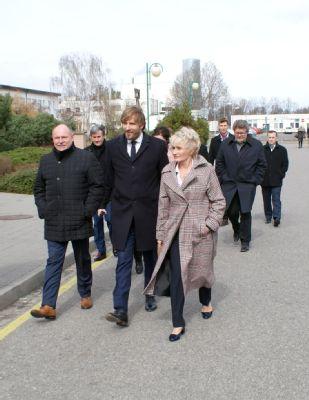 Hejtman Okleštěk a ministr zdravotnictví v prostějovské nemocnici řešili plánované investice
