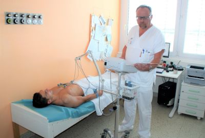 Novými EKG přístroji vyšetřují pacienty v prostějovské nemocnici