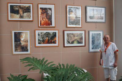 Návštěvníci Nemocnice Prostějov nahlédnou díky výstavě do moravského podzemí