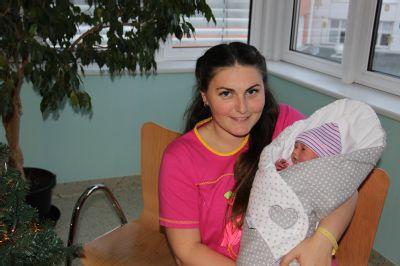 Prostějovská nemocnice přivítala loni na světě 832 dětí