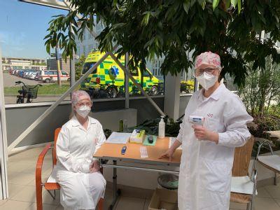 Medička pomáhala v prostějovské nemocnici v první linii. Obrovská zkušenost a respekt všem v nemocnici, říká dobrovolnice